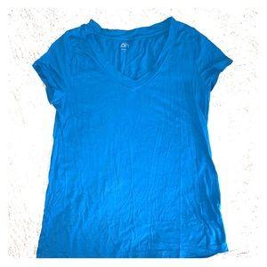 LOFT Blue Vneck T-shirt